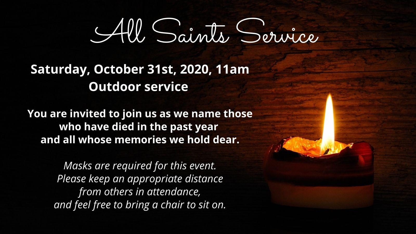 All-Saints-Service
